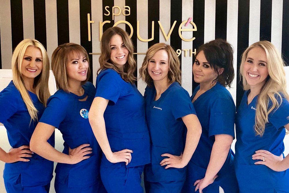 Spa Trouvé reaches Diamond status with CoolSculpting!