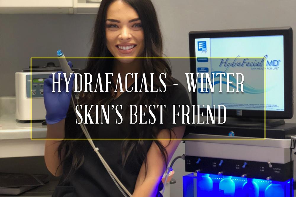 Hydrafacials – Winter Skin's Best Friend